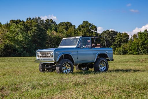 1967 Ford Bronco driver side three quarter view