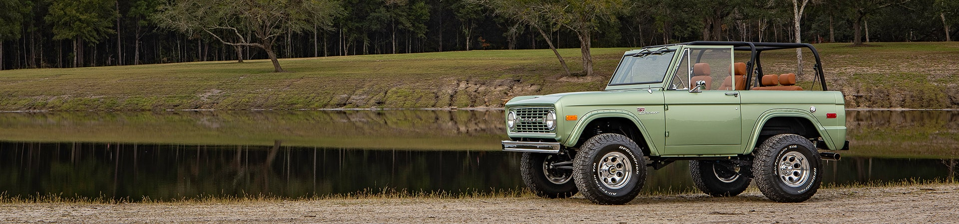 Early Ford Bronco Lake Build