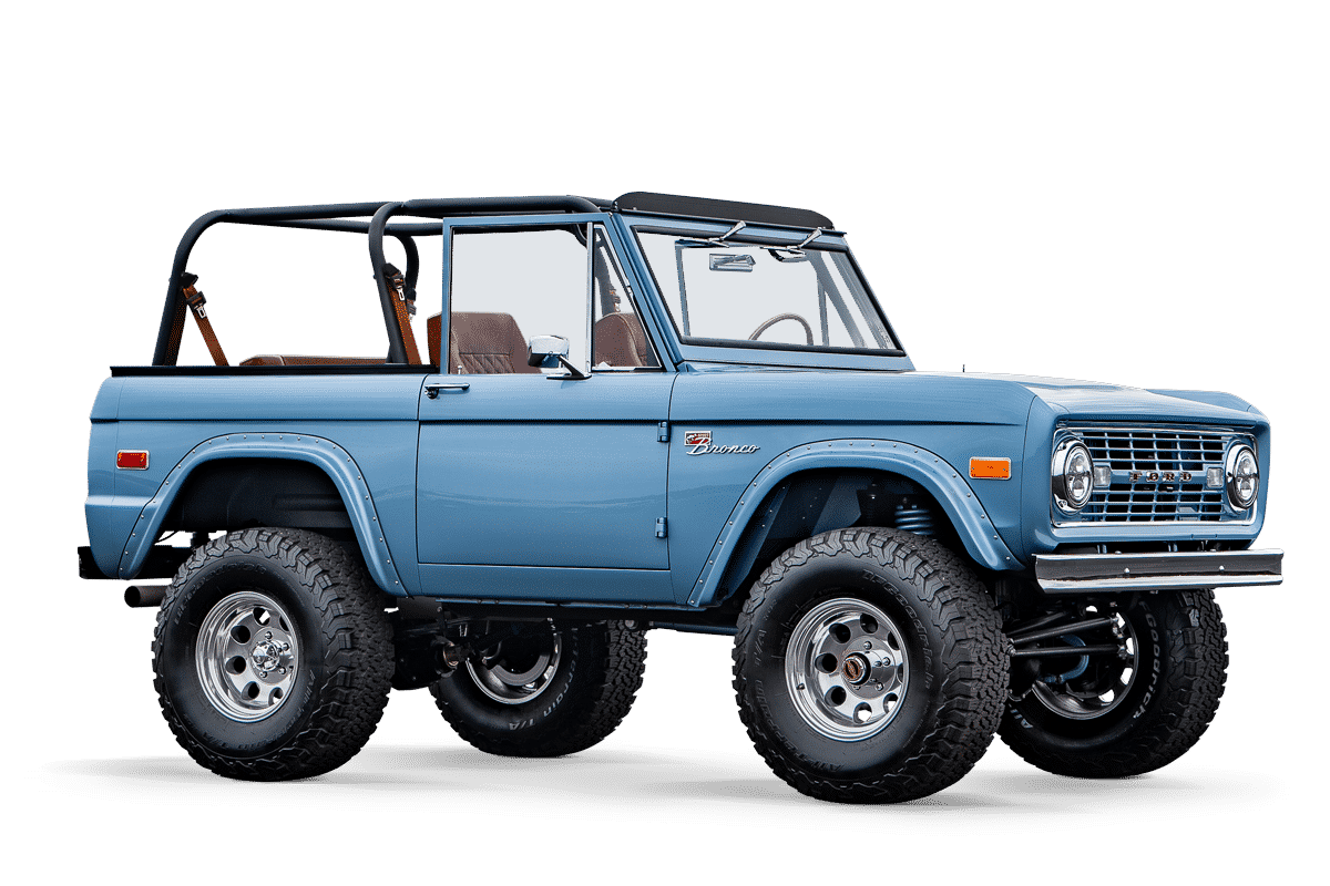 Early Ford Bronco Beach Edition