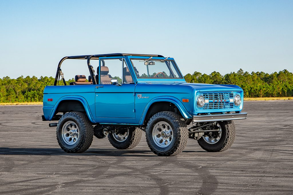 73 bronco outdoor photo