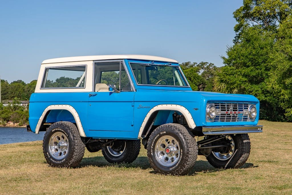 76 early bronco restomod