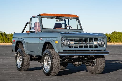 1966 Early Ford Bronco grill